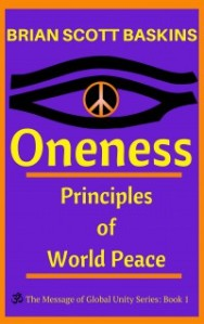 Oneness Book Cover via Brian Scott Baskins